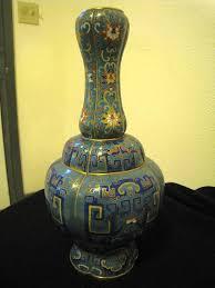Antique Cloisonne Vases Antique Chinese Cloisonne Vase 19th Century For Sale Antiques