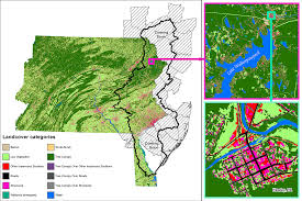 Pennsylvania Map With Counties by Pennsylvania Land Cover Data Now Complete Delaware River Basin