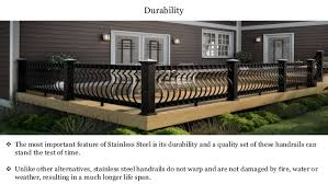 Outdoor Metal Handrails High Quality Stainless Steel Handrails In Uae