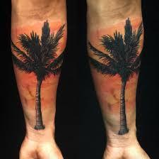 38 alluring palm tree designs tattooblend