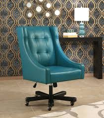 blue desk chairs office chairs logan office chair blue