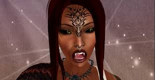 second life marketplace stop u0026 ink tribal beast face tattoo