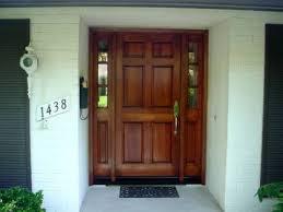 Fiberglass Exterior Doors With Sidelights Wood Entry Doors With Sidelights Entry Prehung 6 Panel Textured