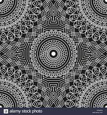 black and white ethnic patterned background arabesque ornament