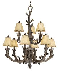 Adirondack Chandeliers Rustic Chandeliers U0026 Cabin Lighting Black Forest Décor