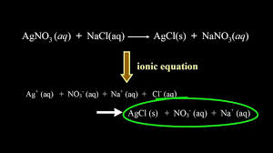 ionic u0026 net ionic equations dissociation u0026 precipitation crash