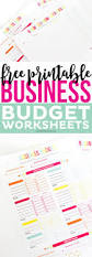 Free Printable Spreadsheets Blank Best 20 Budgeting Worksheets Ideas On Pinterest Budget
