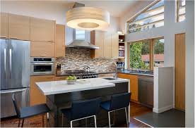 small modern kitchen with island best 25 small kitchen with island