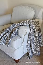 Grey Slipcover Chair The Slipcover Maker Custom Slipcovers Tailored To Fit Your