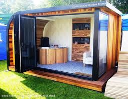 Best Garden Offices Images On Pinterest Garden Office - Home and garden design a room