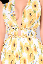 tuscan yellow sun romper yellow