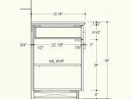 Kitchen Standard Size Kitchen Cabinet by Proper Depth For Frameless Cabinets