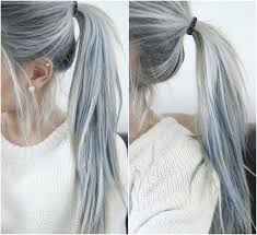 silver hair with lowlights human hair extensions archives vpfashion vpfashion