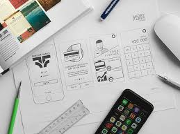 15 beautiful examples of mobile app wireframe sketching