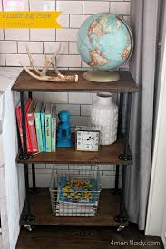 Steel Pipe Shelving by Plumbing Pipe Bookcase