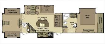 Open Range 5th Wheel Floor Plans 2012 Openrange 427 Bhs Fifth Wheel For Sale In Outside Louisiana