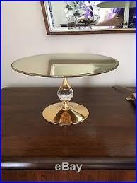 Crystal Pedestal Cake Stand Valerio Albarello Swarovski Crystal Pedestal Cake Stand Plate