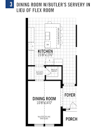 Flex Room Dominica Plan At Tapestry In Kissimmee Florida By Mattamy Homes