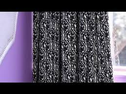 White And Black Damask Curtains How To Decorate With Black U0026 White Damask Curtains For An Office