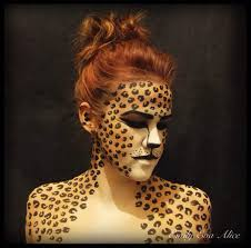 Cheetah Face Makeup For Halloween Body Painting Pictures Google Search Body Painting Pinterest