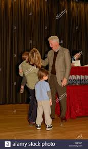 Bill Clinton Hometown by President Bill Clinton Offers Young Boy A High Five And A Funny