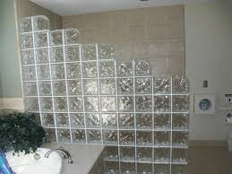 Glass Block Bathroom Designs Catchy Glass Block Room Divider With Interior Gorgeous Bathroom