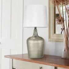 mercury glass gourd lamp wayfair