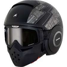ghost rider mask ebay shark raw cult motorbike open face helmet protection mask scooter