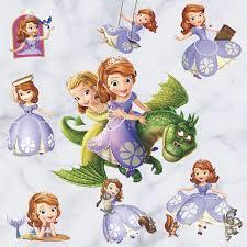 aliexpress buy lovely sofia princess wall decor