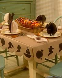 martha stewart thanksgiving decorations thanksgiving children u0027s table martha stewart