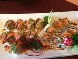 shogun japanese cuisine fusion roll picture of izakaya shogun japanese sushi grill