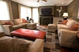 awesome living room with orange accents 28 with additional best