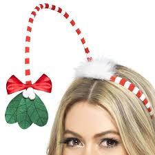 mistletoe headband beautifully crafted christmas novelty accessories