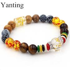 crystal stone bracelet images Yanting crystal stone bracelets for women mantra prayer tiger eye jpg