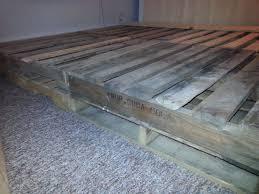 pallet bed frame 5 steps