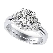 three stone engagement rings cluster triangle shape three stone engagement ring with a matching