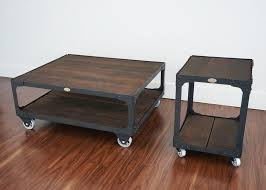 matching floor and table ls matching industrial furniture wood top coffee table end table
