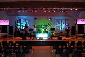 decor church stage decoration room design plan lovely under