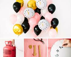 New Year Balloon Decor by 18 Sparkling Diy Party Decorations For The New Year U0027s Eve