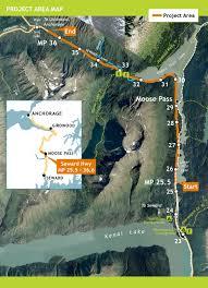 Map Of Seward Alaska by Highway Upgrade Through Moose Pass Has Complications U2013 Seward City