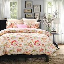 Flower Bed Sets Bedding Set Size Colorful Duvet Cover Pillowcases Flower