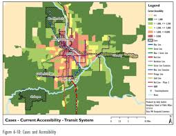 Minneapolis Metro Transit Map by Map Monday Transit To Jobs Accessibility For Twin Cities Case