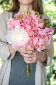 peony bouquet and peony bouquet pink white green