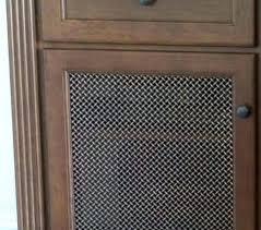 Cabinet Door Mesh Inserts Mesh Cabinet Doors Socialdecision Co
