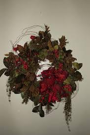 16 best christmas silk flower wreaths images on pinterest