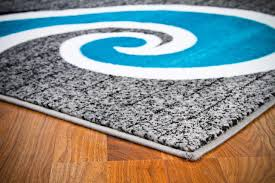 Area Rugs Blue 0327 Turquoise 2 0x3 4 Area Rug Carpet Large New
