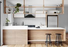 kitchen hanging shelf home design interior