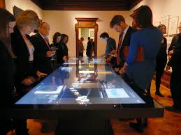 Touch Screen Conference Table Take A Look At Ideum S Futuristic New 4k Uhd Multitouch Tablet Table