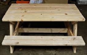Plans For Wood Picnic Table by Wood Picnic Table Plans Wood Picnic Table For Backyard U2013 Home