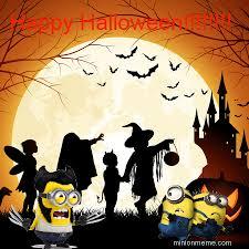 Happy Halloween Meme - minion meme generator profile site